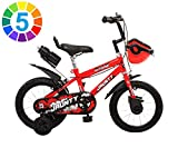Outdoor 14 Inches Bikes Jaunty BMX Bicycle for 3-5 Years - 14\ Frame