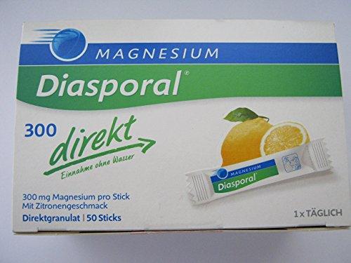 Magnesium Diasporal 300 direkt Granulat, 240 g, 50 Stück