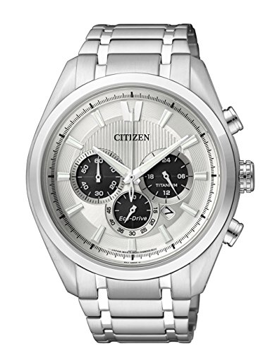 Citizen Herren-Armbanduhr XL Super Titanium Chronograph Quarz Titan CA4010-58A