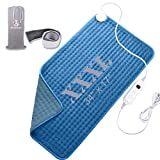 Heating pad, Large heating pad, Electric Heating Pad for Back Pain and Cramps Fast Relief.2 hours...