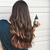 Hair Detangler Spray - Natural & Organic - Foxbrim Soft & Light Hair Detangler Spray - Nutrient Rich Leave In Conditioner For Curly Natural Hair - With Castor & Neem Oils, Aloe Vera & Vitamin E - 4OZ