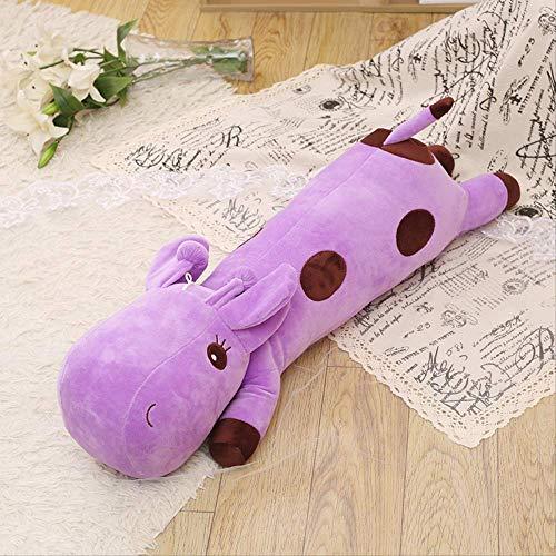 DOUFUZZ SNHPP Muñecas Creativas de Felpa llenas de muñecas de Trapo Decoradas con Animales para Regalos de cumpleaños de los niños 60CM Púrpura