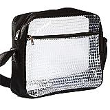 VIEAURA エンジニアバッグ クリーンバック 静電気防止 ショルダーバッグ 透明 クリーンルーム 多機能 大容量 帯電防止 クリア 肩掛け 工具 収納