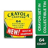Best Crayon Sharpeners - Crayola Vintage-Style Crayon Set with Collectible Tin Review