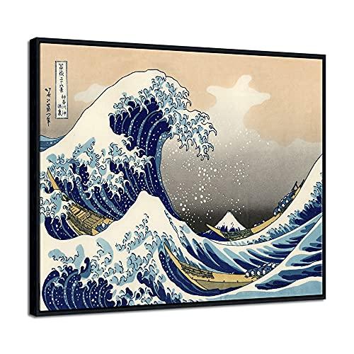 Great Wave Framed Art