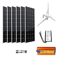 Solar Wind Hybrid Power - Eco-Worthy 900W Wind Solar Kit