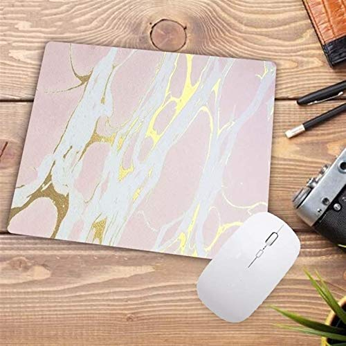 Desk Pad Marble Large Gaming Mouse Pad Lock Edge Mouse Mat Keyboard Pad Desk Mat For Laptop Computer Gamer Mousepad for Office/Home (Size : 250X290X2MM)