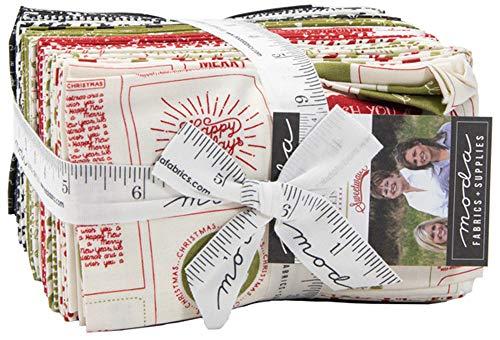 Sweetwater 5770F8 Weihnachtskarte 40 Fat Eighths Moda