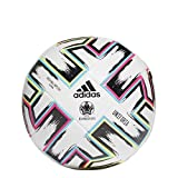 adidas UNIFO TRN Ballons Match Football Men's, White/Black/Signal Green/Bright Cyan, 4