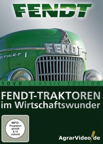Fendt Traktoren im Wirtschaftswunder [5 DVDs]