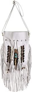 native american fringe bag