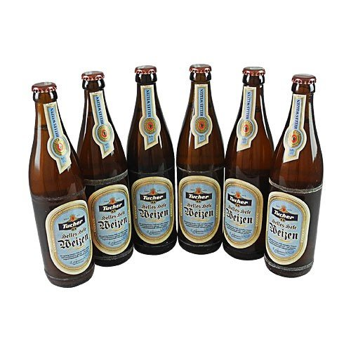 Tucher Helles Hefeweizen (6 Flaschen à 0,5 l / 5,2% vol.)