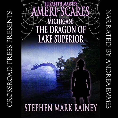 Couverture de Elizabeth Massie's Ameri-Scares Michigan: The Dragon of Lake Superior