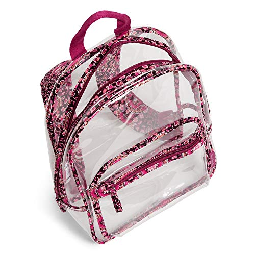 Cheapest Prices! Vera Bradley Clearly Colorful Stadium Backpack in Raspberry Medallion
