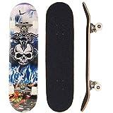 Sumeber, skateboard per evoluzioni da adulti, per principianti, regalo di compleanno, per...