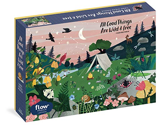 All Good Things Are Wild and Free - 1,000-Piece Puzzle (Flow)