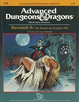 I10 Ravenloft II: The House on Gryphon Hill - Book  of the Advanced Dungeons and Dragons Module #C4