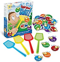 Learning Resources Sight Word Swat a Sight Word Game, Home School, Tactile and Auditory Learning, Phonics Games, Educational Toys for Kids, 114 Pieces, Ages 5+