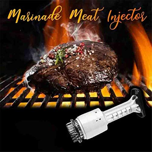 Esaltatore di salse, Tenderizer per iniettore di carne per bistecca professionale Iniettore di sughi per barbecue