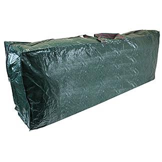 CKB Ltd®–Bolsa de alta calidad resistente y con cremallera para guardar el árbol de Navidad artificial de hasta 2,75m, ideal para el desván, el cobertizo o la cochera