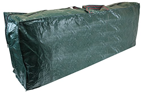 CKB Ltd Premium CHRISTMAS TREE Storage Bag Holder Holds Stores Your Artificial Xmas Tree Jumbo Size for trees up to 9ft tall – Heavy Duty Zip Up Sack– Ideal to use in the Loft Shed Garage