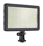 Simpex LED 406 Dual Colour Professional LED Video Light with Battery 550