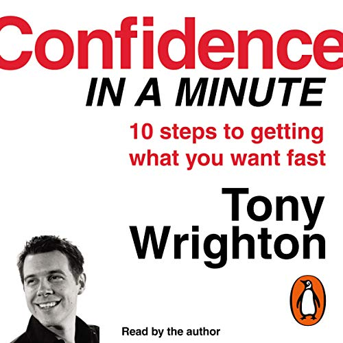 Confidence in a Minute audiobook cover art