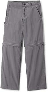 Columbia Youth Boys Silver Ridge IV Convertible Pant, City Grey, Medium