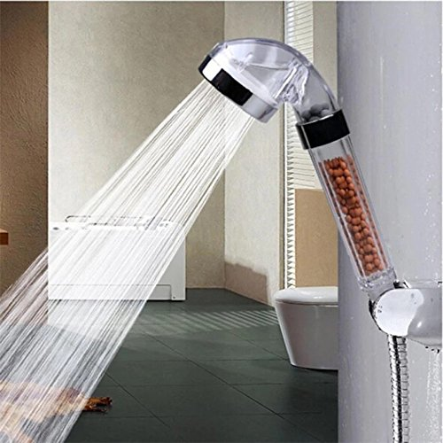 Fantastic Prices! Bath Shower Head High Pressure Boosting Water Saving Filter Balls Beads Utility
