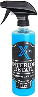 Liquid X Interior Detail - Light Cleaner with UV Protection - Non Greasy Finish (16 oz)