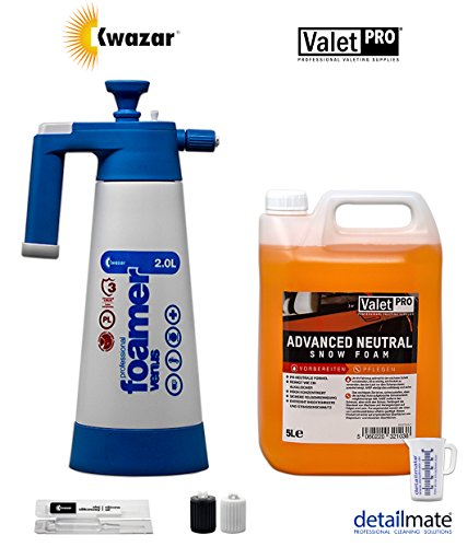 detailmate Kwazar Venus Super Foamer Cleaning Pro+ 2 L verre doseur Viton 50 ml + mousse de neige 5 l