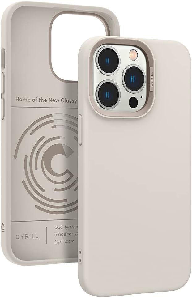 CYRILL Color Brick Designed for iPhone 13 Pro Case (2021) - Cream