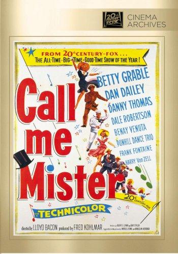 Call Me Mister [Edizione: Stati Uniti] [Reino Unido] [DVD]