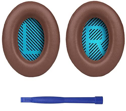 Image of SoloWIT® Professionelle Ersatz Ohrpolster für Bose, kompatibel mit Over-Ear Kopfhörern von QuietComfort 15 QC15 QC25 QC2 QC35 Ae2 Ae2i Ae2w SoundTrue & SoundLink