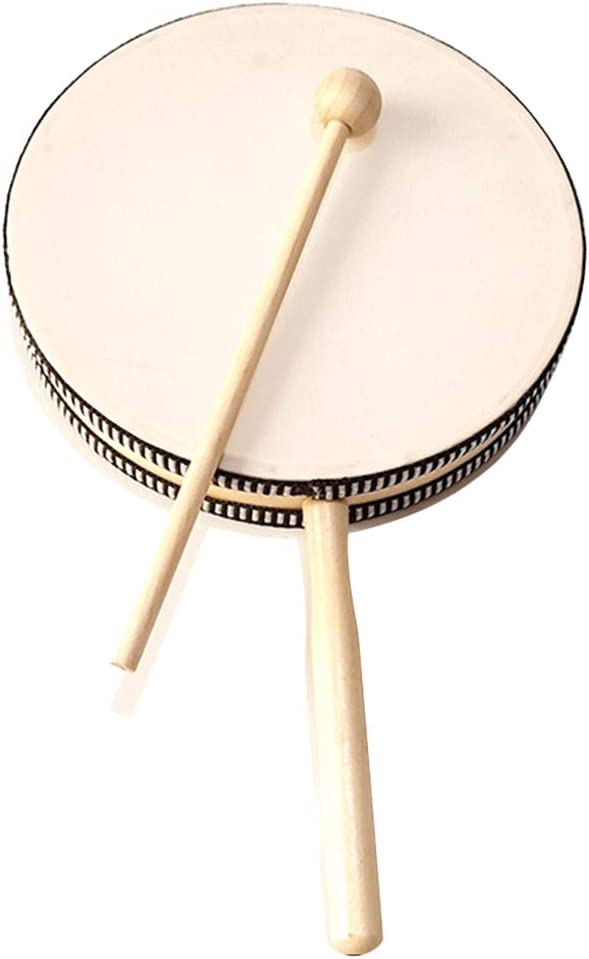 trust GFHFG Eight-Inch Double-Sided Hand Inst Max 81% OFF Drumming Percussion Orff