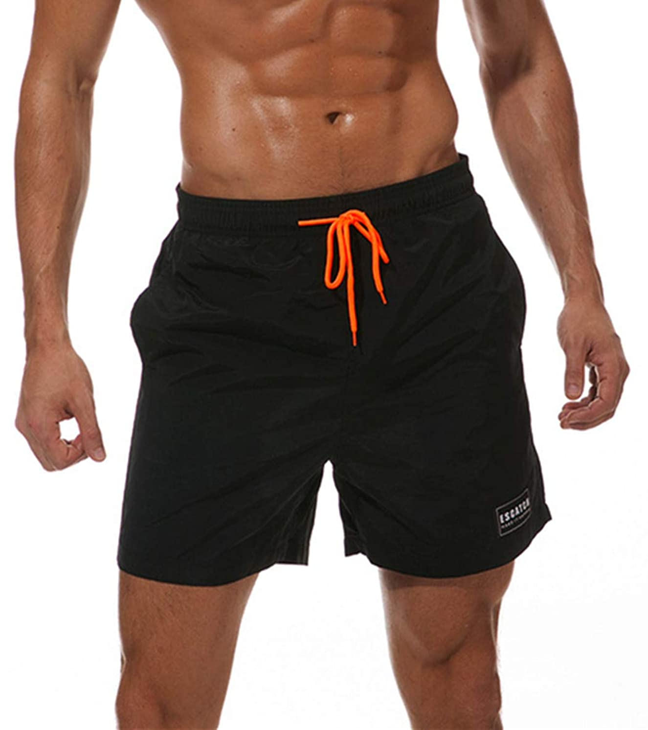 WESIZAR Swimming Trunks Men Surfing Waterproof Beach Shorts with Pockets