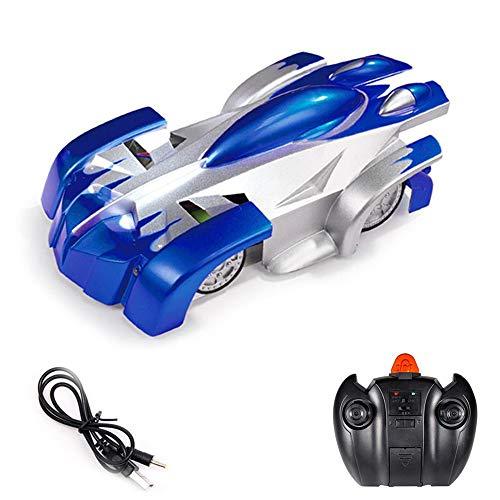 Anabei Escalada en la pared coche acrobacias escalada coche grande control remoto de los niños coche de juguete de control remoto azul