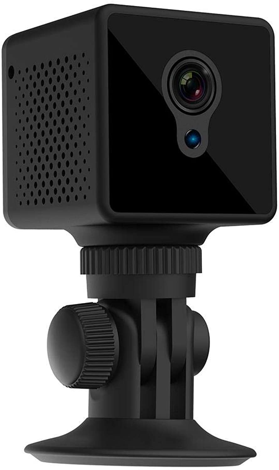 Lookthenbuy S8 Mini Camera HD Night Vision P2P WiFi Motion Detection Camcorder Webcam