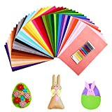 SOLEDI Suave Fieltro Manualidades Tela no Tejido de Lana 41 Colores, Material para Costura y Artesanías de Bricolaje (20 * 30cm)