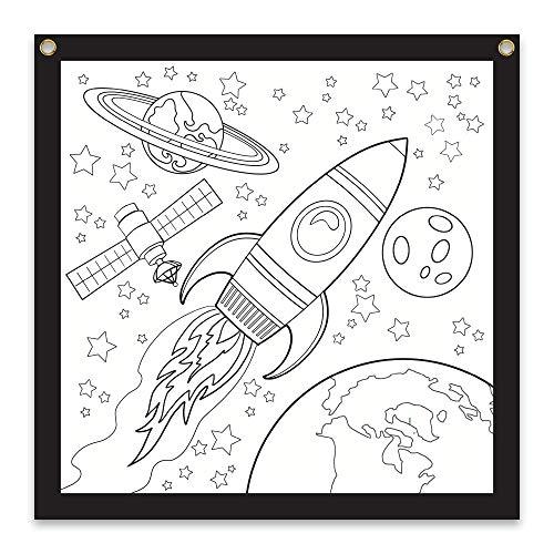 Rico Industries Space Design Color-Me Felt, 36 x 36-inches