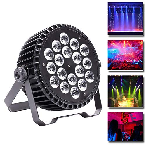 UKing Luci del Palcoscenico LED, 200W RGBW Auto/Voice/ DMX512 Controllo per Club Bar KTV Wedding Home Halloween Natale