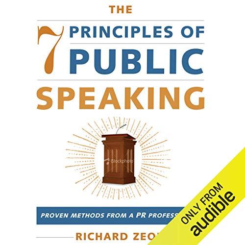 The 7 Principles of Public Speaking audiobook cover art