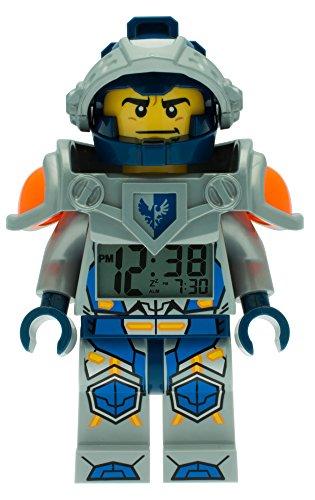 Despertador con luz infantil con figurita de Clay de LEGO Nexo Knights 9009419