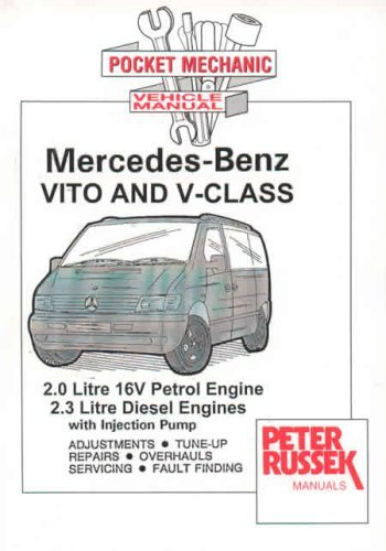 Pocket Mechanic for Mercedes-Benz Vito and V-Class to 2000: 2.0...