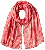 Desigual Foul_Galaxy Bufanda, Rojo (Red Ocre 3069), Talla Única (talla del fabricante: U) para Mujer