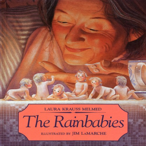 The Rainbabies audiobook cover art