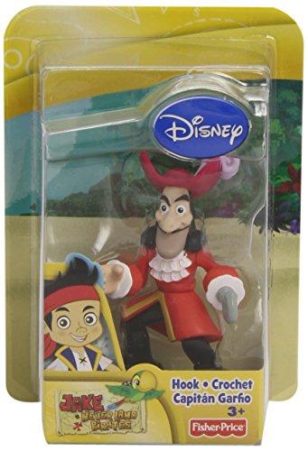 Jake y los Piratas - Muñeco de acción, Hook (Mattel X8169)
