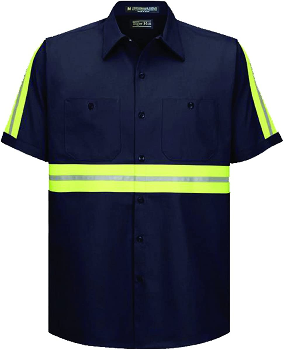 Tiger Hill High Large-scale sale Visibility Work Shirt - Sleeves Short Sales for sale