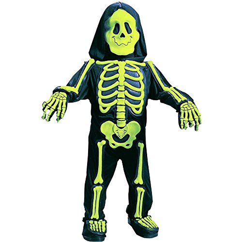 Fun World Costumes Baby Boy's Totally Skelebones, Black/Green, Small