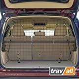 Travall Guard Plus Compatible with Toyota Highlander XU40 XU50 (2013-2019) TDG1575 - Rattle-Free Full Height Steel Vehicle Specific Pet Barrier